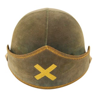 Vintage ' Captain of Guard ' Costume Hat For Sale