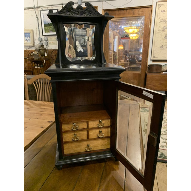 Victorian Late 19th Century Smoker's Cabinet For Sale - Image 3 of 7