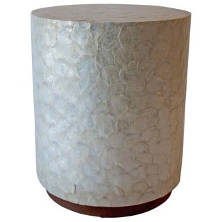 Capiz Shell Side Table For Sale