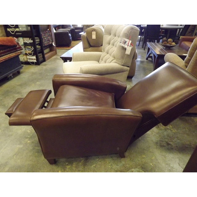 American Leather Lincoln Recliner Chair - Image 6 of 8