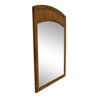 Drexel Cross Country Wood Frame Wall Mirror For Sale