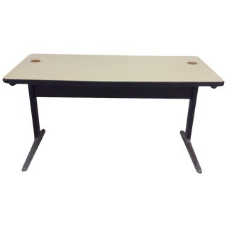 Vintage George Nelson Herman Miller Aluminum Group Desk For Sale