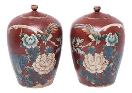 Image of Chinese Bottles and Jars and Jugs