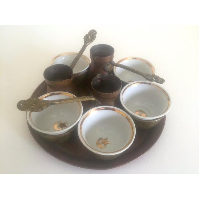 Turkish Bohemian Handmade Coffee Service - Image 2 of 10