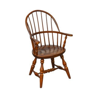 Frederick Duckloe & Bros Windsor Style Childs Diminutive Size Arm Chair For Sale