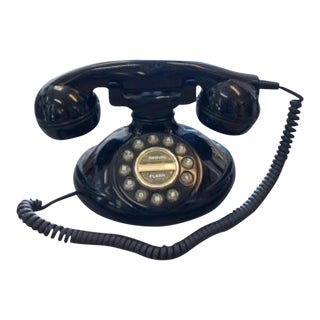Mid-Century Modern Bakelite Phone Functionial For Sale