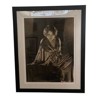 Vintage 2000 George Hurrell Dorothy Sebastion Digital Photograph From 1930 Restored Negative For Sale