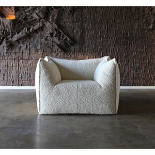 "Mario Bellini ""Le Bambole"" Lounge Chairs for B&b Italia- A Pair Preview"