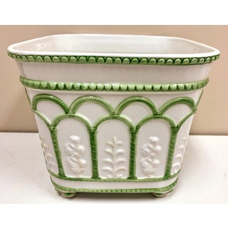 Signed Jeanne Reed Italian Planter Preview