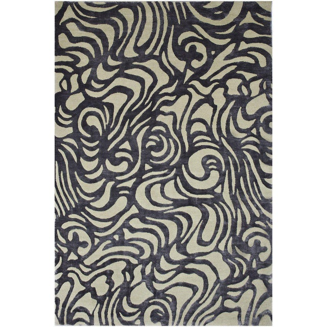 """Flow"" Rug by Emma Gardner - Image 5 of 5"