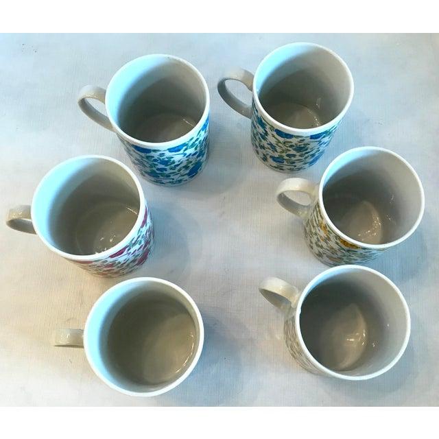 Ceramic Vintage Japanese Ceramic Tea or Coffee Mugs - Set of 6 For Sale - Image 7 of 12
