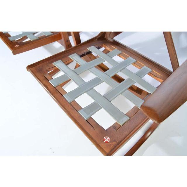 Wood Ib Kofod-Larsen for Selig Denmark Lounge Chairs in Teak For Sale - Image 7 of 11