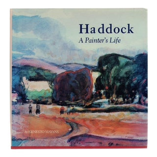 Haddock: A Painter's Life - SIGNED For Sale