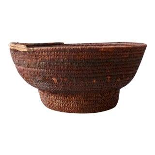 Antique African Tribal Basket