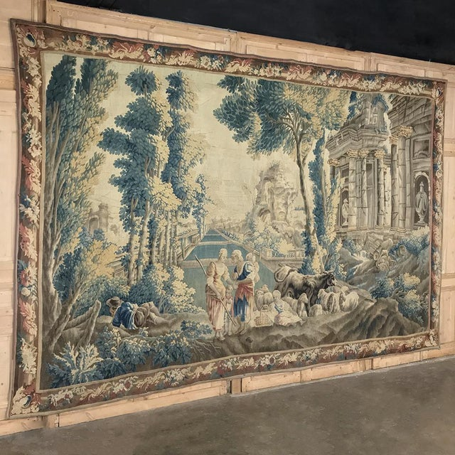 Grand 17th Century Oudenaarde Tapestry is a work of art that only the masters of Flanders could produce. Works from the...