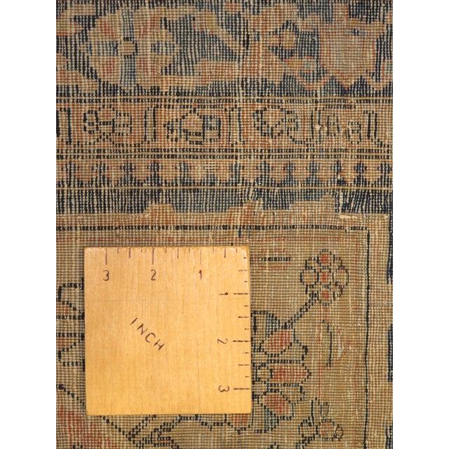 Exquisite Antique Oversize Mohtashem Kashan Carpet For Sale - Image 4 of 9