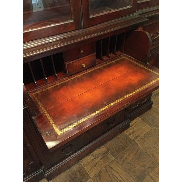 Vintage Mahogany China Cabinet - Image 5 of 10