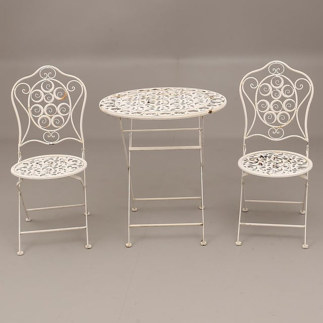 1960s Swedish Garden Steel Furnitures For Sale - Image 5 of 5