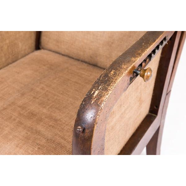 Reclining Wing Chair - Image 4 of 6