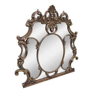 Italian Baroque Gold Mantle Mirror