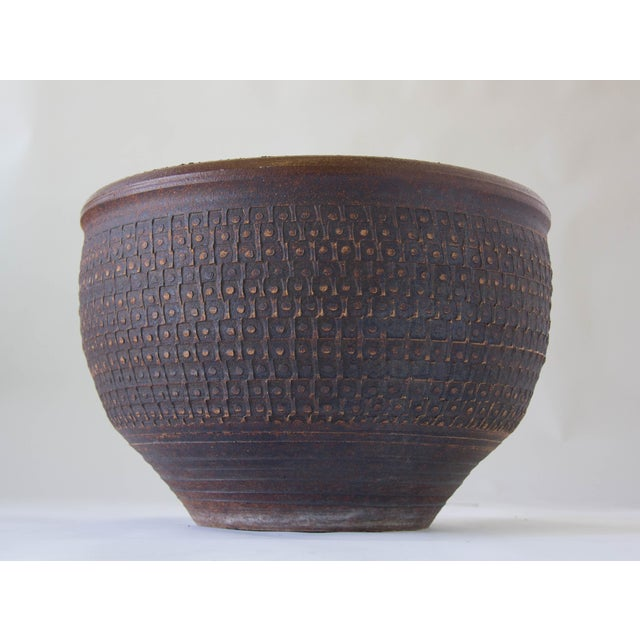 Bob Kinzie Bowl Planter for Affiliated Craftsmen - Image 7 of 7