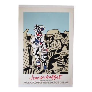 1974 Pace Gallery Original Dubuffet Exhibition Poster - Artist Edition