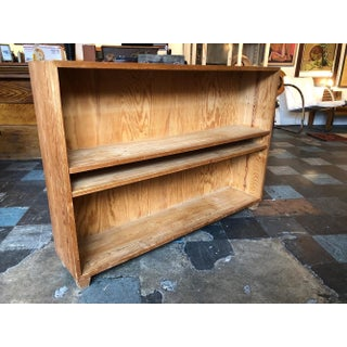 French Pine Bookshelf With Adjustable Shelves Preview