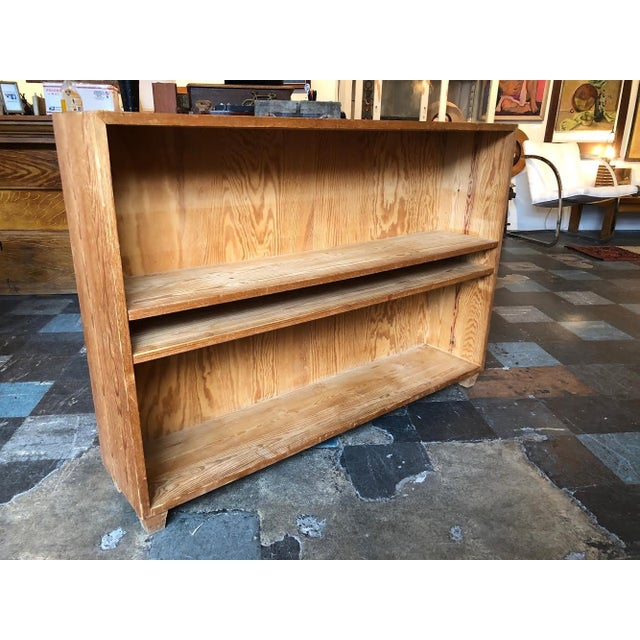 Fabulous adjustable storage and well made wooden shelving unit from France.