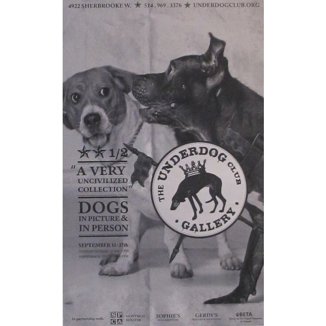 Large Underdog Rescue Poster, Civilized For Sale - Image 4 of 4