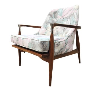 Mid Century Accent Chair For Sale