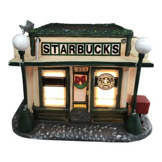Vintage Starbucks First Store Replica For Sale