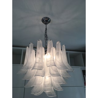 """Selle Alabastro"" Mazzega Style Chandelier Preview"