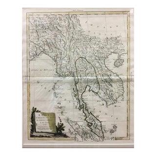 Antique Map: Regni d'Aracan Del Pegu DI Siam DI Camboge E DI Laos, 1785 For Sale