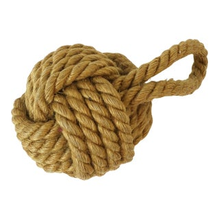 Nautical Rope Knot, Small For Sale