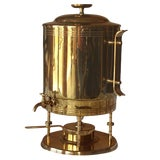 Image of Tommi Parzinger for Dorlyn Silversmiths Coffee Hot Water Urn For Sale