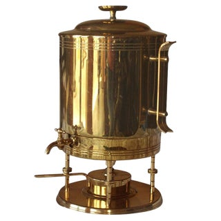 Tommi Parzinger for Dorlyn Silversmiths Coffee Hot Water Urn For Sale