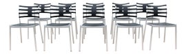 Image of Danish Modern Outdoor Dining Chairs