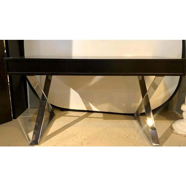 Mid-Century Modern Milo Baughman Vanity Desk For Sale - Image 10 of 13