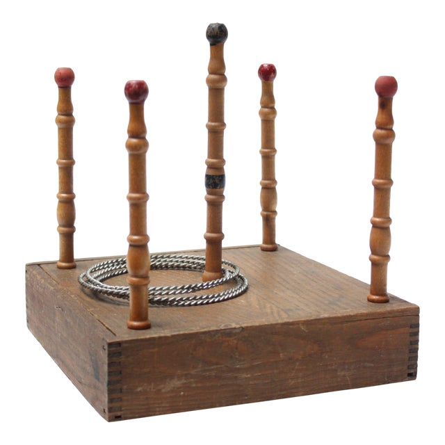 Victorian Ring Toss Game For Sale