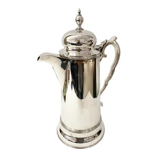 """Monumental British Silver Plate Pitcher, 15 1/2"""" For Sale"""