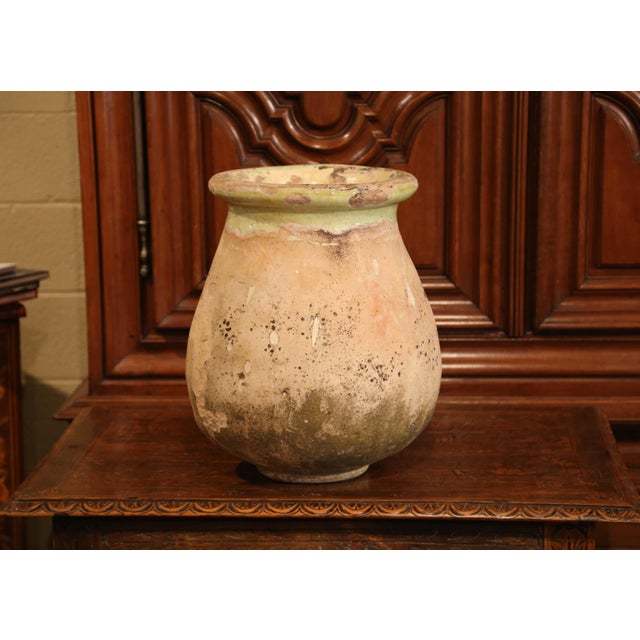 Mid 19th Century 19th Century French Terracotta Olive Jar From Provence For Sale - Image 5 of 7