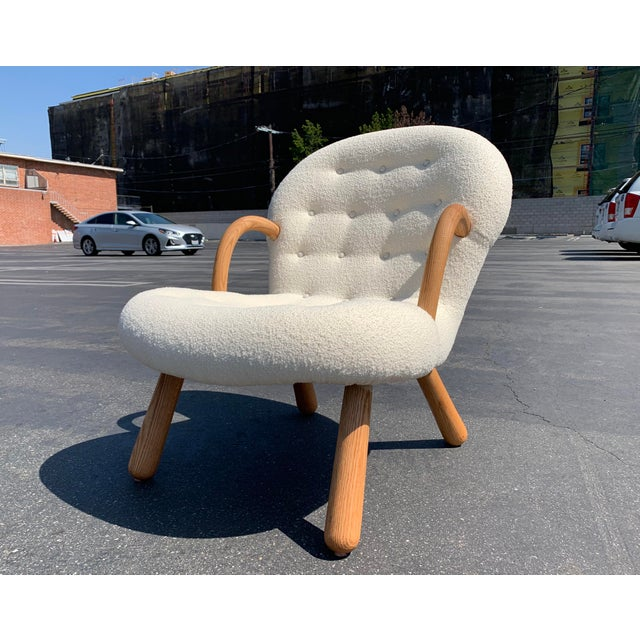 """Philip Arctander Style """"Clam"""" Chair For Sale In Los Angeles - Image 6 of 10"""