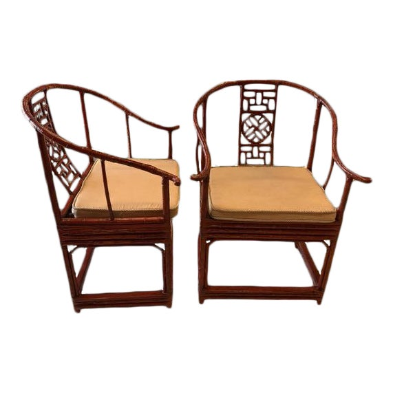 Late 19th Century Ming Style Quanyi Chairs -2- For Sale