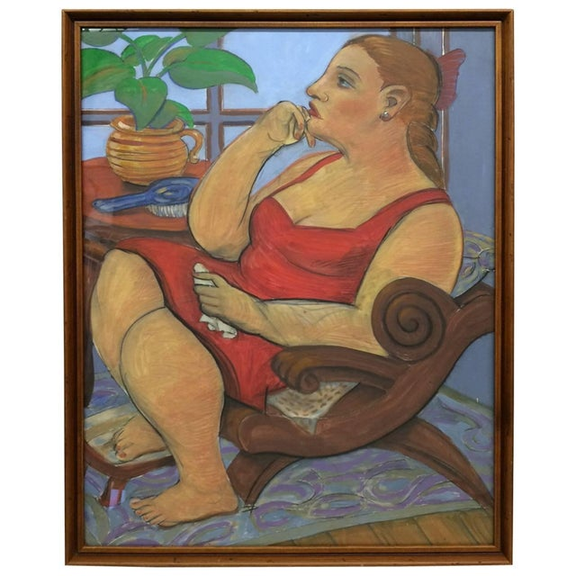 Pastel and Gouache Drawing by Frank Guttierrez - Image 1 of 4
