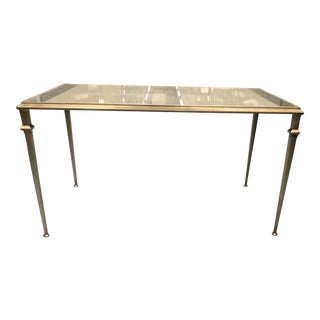 Traditional Mirrored Coffee Table For Sale