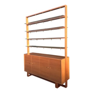 Mid-Century Custom Wall Unit For Sale