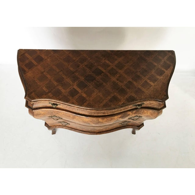 Italian Bombe Parquetry Commode For Sale In Dallas - Image 6 of 10