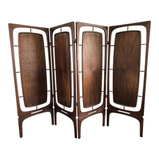 Mid Century Room Divider >> Vintage Used Mid Century Modern Screens And Room Dividers Chairish
