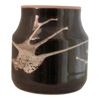 Vintage Bernwell Studio Art Pottery Vase For Sale