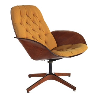 1960s Vintage George Mulhauser for Plycraft 'Mrs. Chair' Lounge Chair For Sale